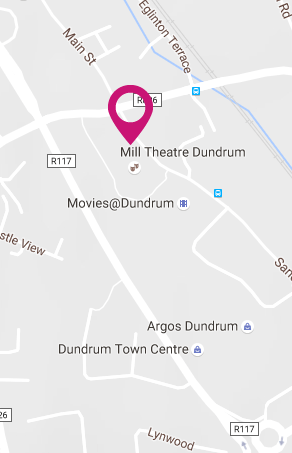dlr Mill Theatre Dundrum South Dublin, In the heart of Dundrum in South Dublin, staging the best in theatre, visual art, comedy, music and much more Map