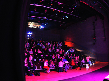 Audience at dlr Mill Theatre, Dundrum, south Dublin