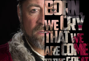 Philip Judge as King Lear dlr Mill Theatre October 2017